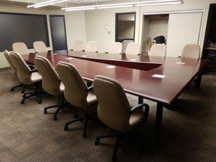 Meeting Boardroom Tables Used Office Furniture Catelog Kitchener - Wood veneer conference table