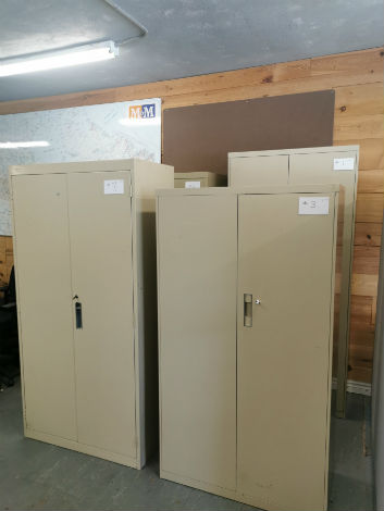 STORAGE CABINETS WITH LOCK
