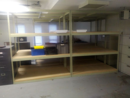 "OPEN SHELVING UNITS 60 "" X 24"""