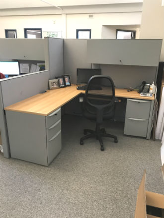 HAWORTH PREMISE WORKSTATIONS - LIKE NEW | Kitchener-Waterloo Used ...