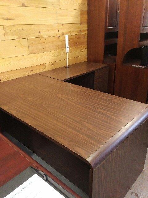 l shape executive desk unit kitchener waterloo used