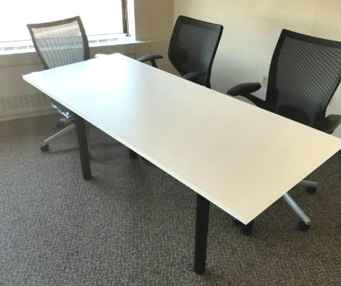 STEELCASE MULTI-PURPOSE TABLES 72X30